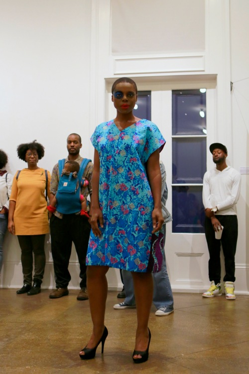 Fashion show with NOLA-based Aya Designs