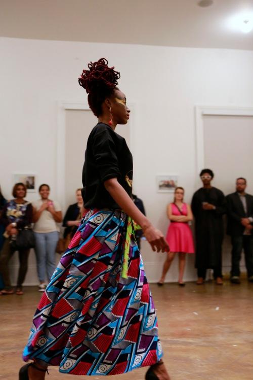 Fashion show with NOLA-based Aya Designs X DOPEciety