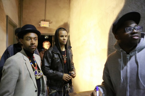 Man dem at the door. More photos from the amazing GUMBO Party coming soon!